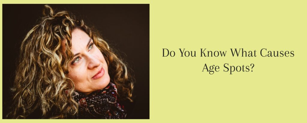 What causes age spots